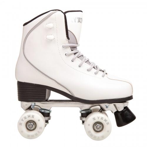 Classic white elite rollerskate