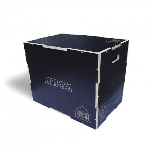 Plyo jump box made of non-slip wood