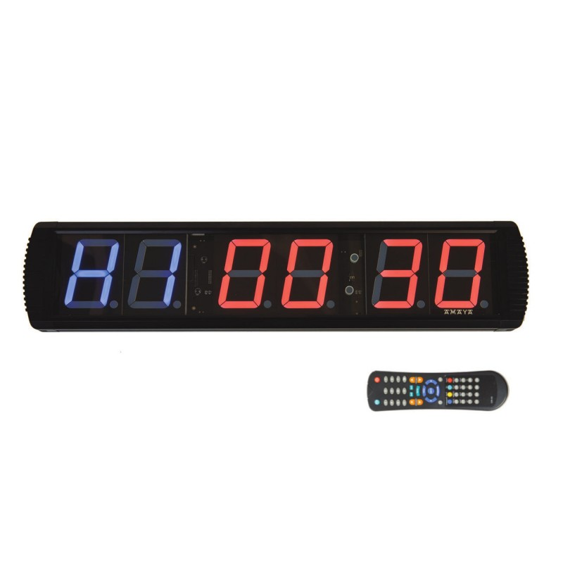 Cronómetro fitness pared