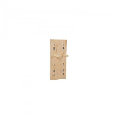 Peg Board de madera laminada