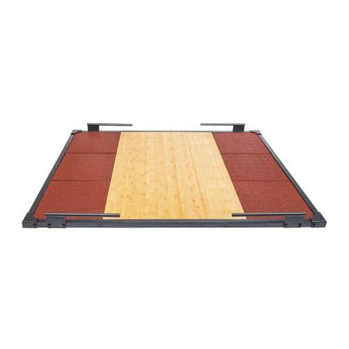Platform frame for dead weight