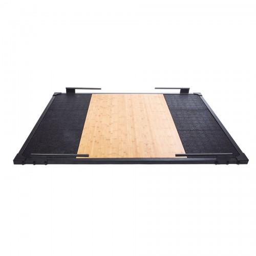 Plataforma para peso muerto con marco de acero