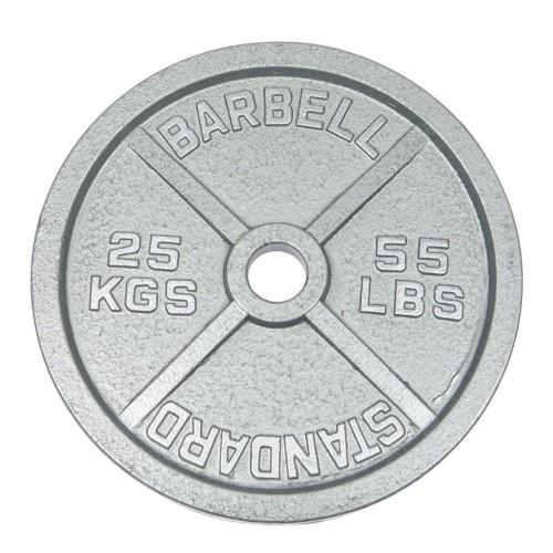 Discos estándar de hierro fundido