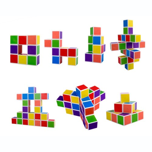 Magnetic Cubes 27pcs