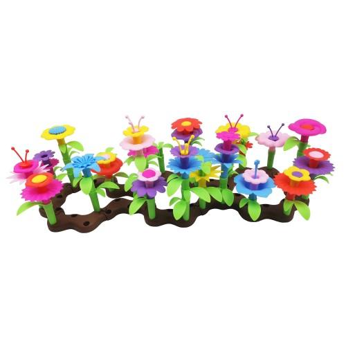 Flower garden 104 piezas
