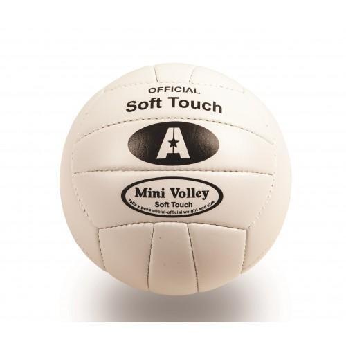 Balón mini volley cuero sintético cosido