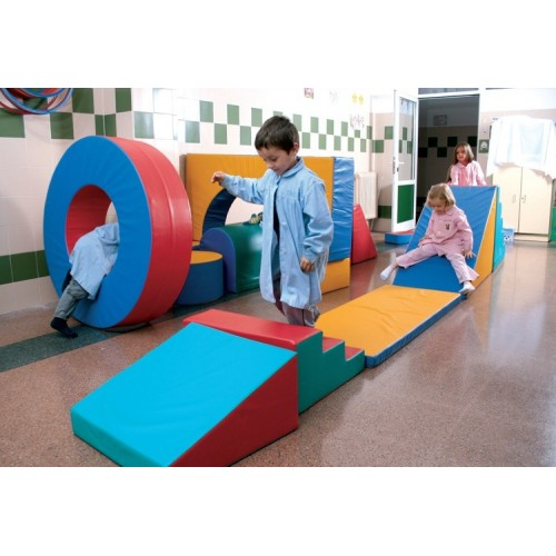 Synthetic Leather Soft Play Set- 22 Shapes