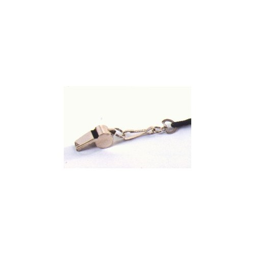 Metal Whistle With Rope In Skin Pack