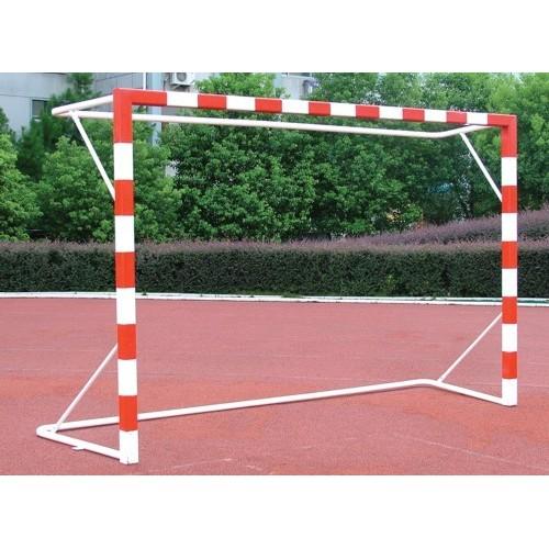 Porterías Balonmano y Fútbol Sala Competicion Aluminio Arquillo Ovalado