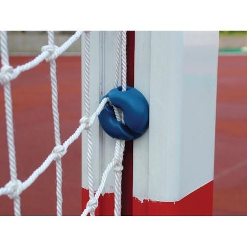 Redes Balonmano/ Futbol Sala. Juego Fabricadas En Pe Sin Nudos, 3Mm. Blanca.
