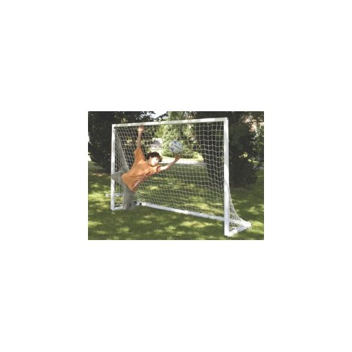 Goal made in nerved PVC tube 70 x 70 mm.