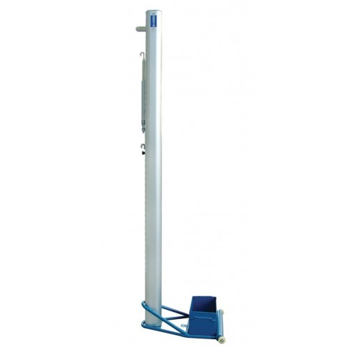 Volleyball Posts. Transportable.Competition. Oval Aluminium Profile.