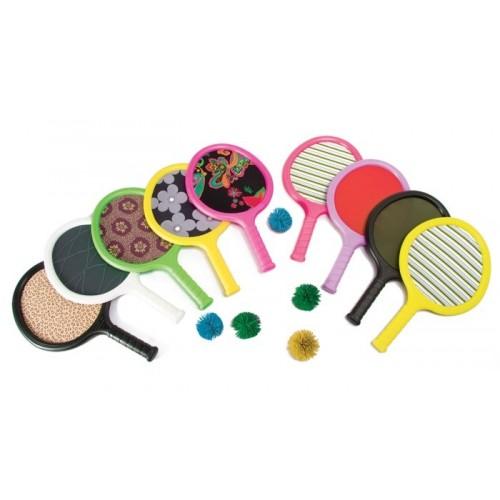 Lycra racket set