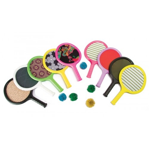 Set raquetas licra