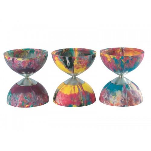 Diabolo Multicoloured Rubber Competition