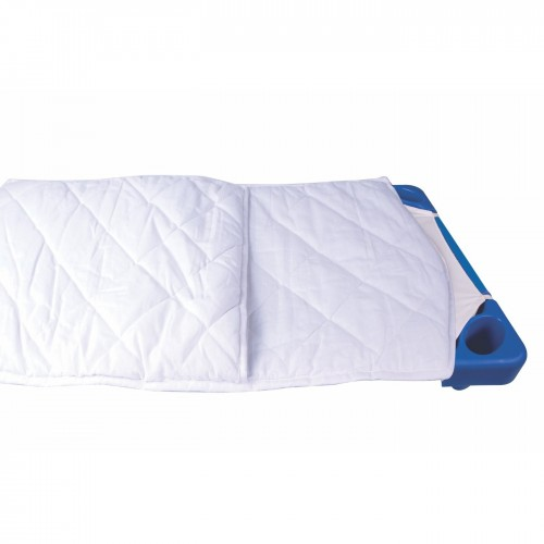 Padded sleeping bag for our children