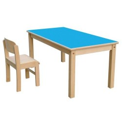 Wood Chairs and Tables