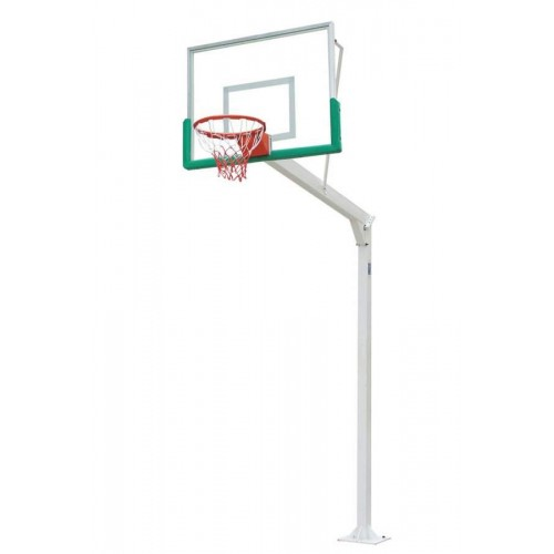 Minibasketball set with fiber backboards