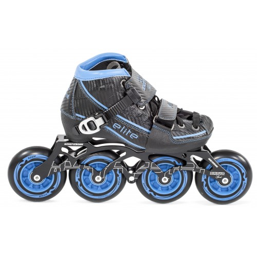37ee904673cc Patín Velocidad Élite Ajustable - Azul ...