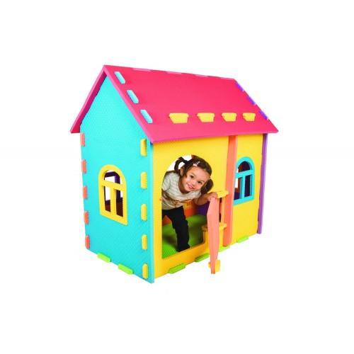Multicolour house